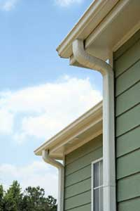 Paint Metal Gutters