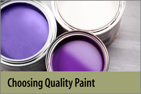 Choosing Quality Paint - FYH
