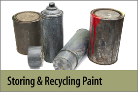 Storing and Recycling Paint - FYH