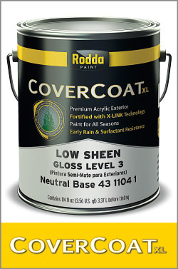 CoverCoat XL - Premium Acrylic Exterior. Extend Your Painting Season