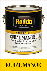 Rural Manor Stains